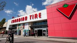 Canadian Tire Spinning On All Four