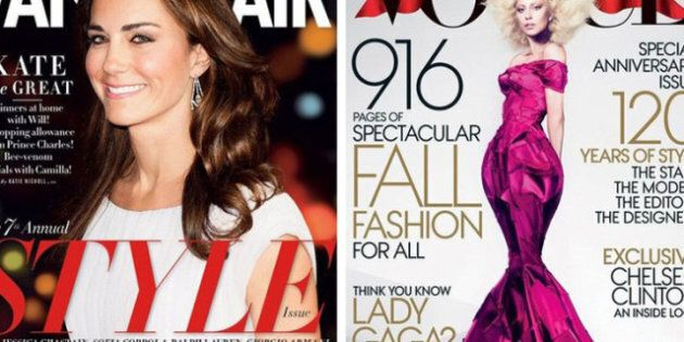 September 2012 Covers: International Editions Of Fashion
