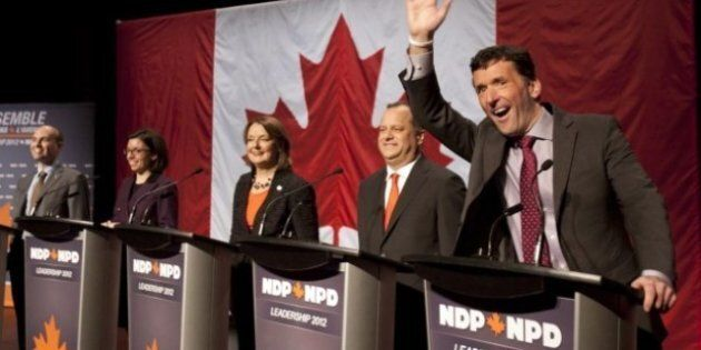 Mulcair Defends NDP 'Opportunity' In