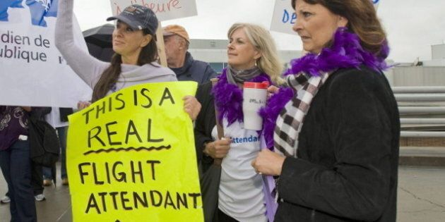 Air Canada Strike Averted, But Protesters Angry At Government's