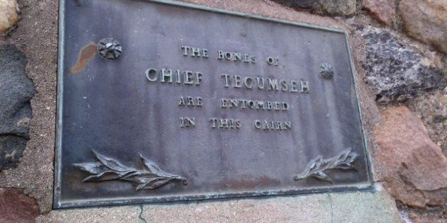 Chief Tecumseh Grave: Conservative Party's War Of 1812 Spending Plans Exclude Key Figure's Resting