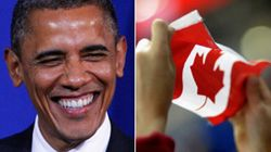 Obama At Wedding Of Canadian Politician's