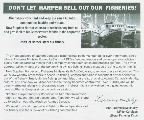 John Williamson, Tory MP, Criticizes Possible Government Fisheries