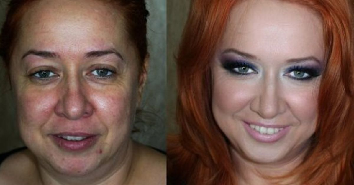 Before And After Makeup Photos Make Women Unrecognizable Photos