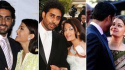 LOOK: Aishwarya And Abhishek Then And