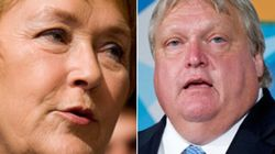 Marois Touches On Weighty