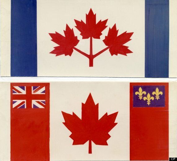 Awesome Canadian Flag Designs That Got Cut