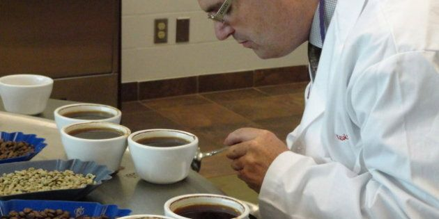 Tim Hortons Coffee Tester Kevin West Sips 75,000 Cups A