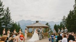 Would You Have Your Wedding In The Mountains? This Couple