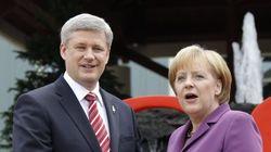 Merkel To Take Different Stance Than Harper On EU Trade