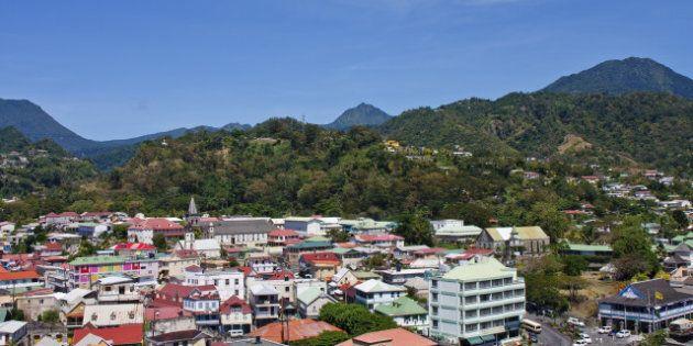 colorful town of bridgetown...