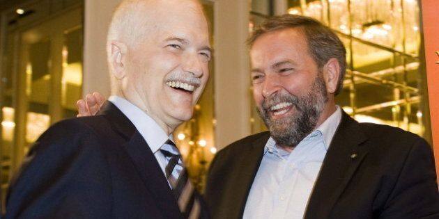 Jack Layton Anniversary: Mulcair Pays Tribute To Former NDP Leader In
