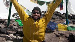 Climbing Mount Kilimanjaro on His