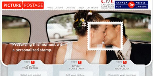 Use Your Wedding Pics To Create Custom Postage