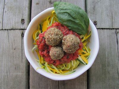 These No-Meat Balls Are Packed with