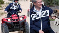LOOK: Harper Goes Off Road, Pets