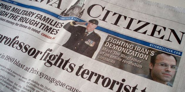 Postmedia Paywall: National Post, Ottawa Citizen, Vancouver Province, Vancouver Sun Enact 'Metered' Pay