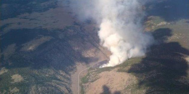 Wildfire Evacuations In BC Cariboo