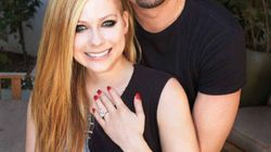 Avril Lavigne Shows Off Huge Ring, Engagement Pics In Hello!