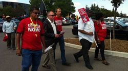 Zellers Workers Protest Mass Layoffs Ahead Of Target's