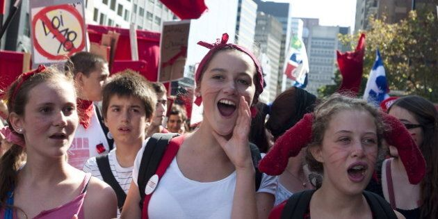 Quebec Election 2012: Student Protesters Resurface Amid