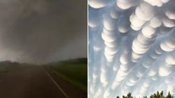 WATCH: Nasty Weather Wallops