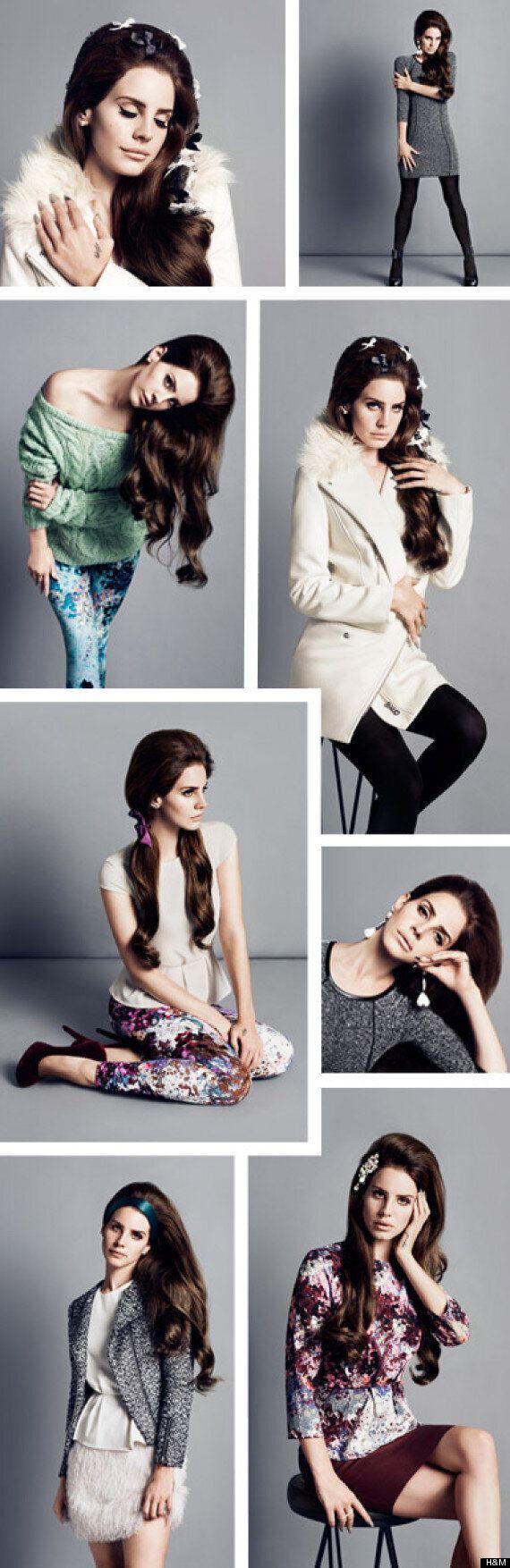 Lana Del Rey Is H&M's Fall 2012