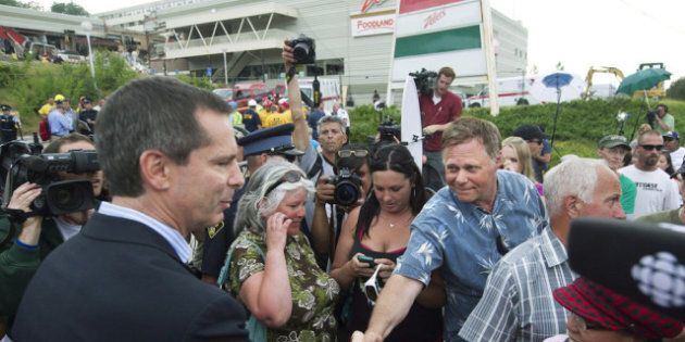 Elliot Lake Mall Collapse: McGuinty Promises Review Of Algo Centre Mall's