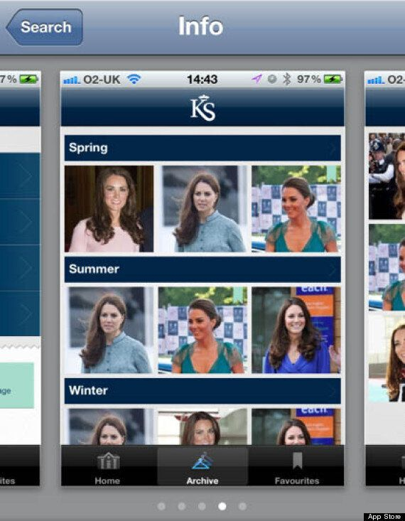 Kate Middleton's Style List: Fashion App Helps You Shop Her Closet On Your