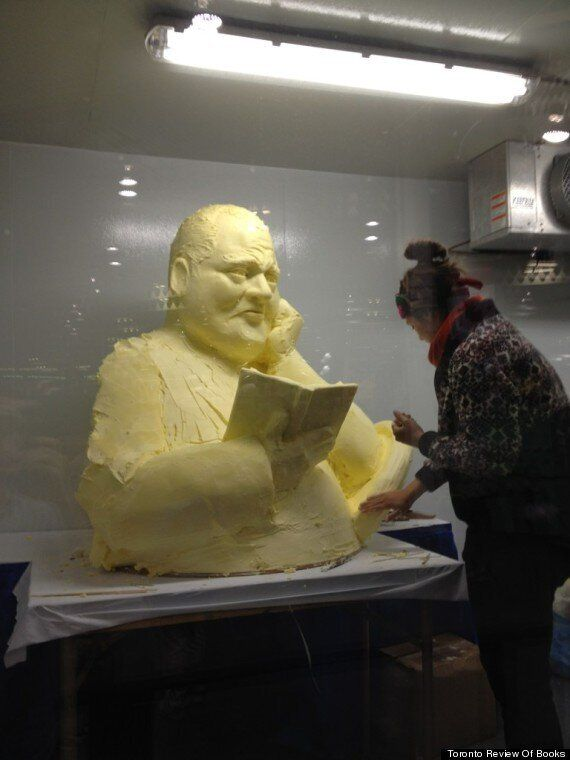 Butter Rob Ford Sculpture A Crowd Pleaser At The