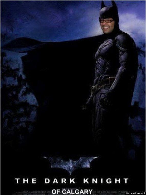 Calgary Mayor Naheed Nenshi As Batman: Kind-Of Answering Your Tough Superhero