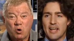 Shatner To Trudeau: You're Doing It