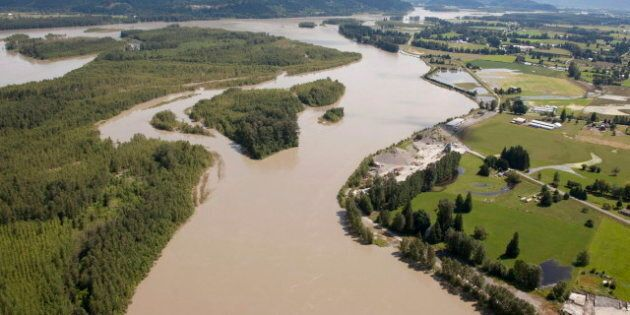 B.C. Floods: Water Levels In Rivers And Lakes Ebb, Giving Flood-Weary Residents A