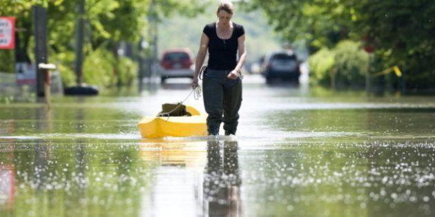 Harper Visits Quebec Flood Zone, Announces Financial Support, Disaster Mitigation