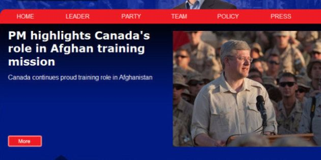Conservative Website Hacked: Story About Harper Being Sent To Hospital After Choking On Hash Brown Is