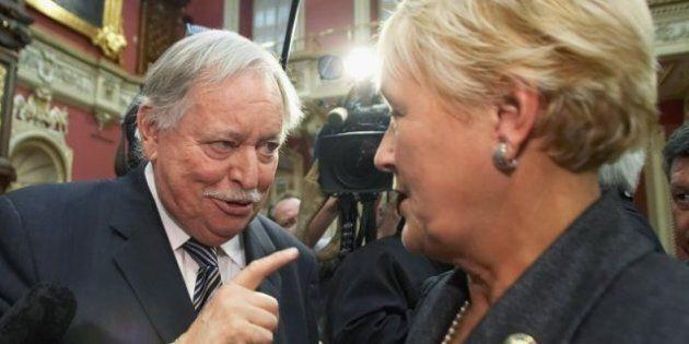 Jacques Parizeau, Pauline Marois Feud Escalates As Parti Quebecois Troubles
