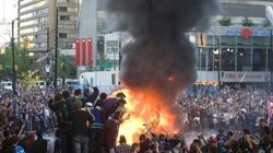 VIDEO: Vancouver Rioting: Fires Downtown After Canucks