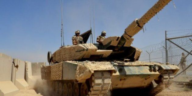 Canada Kandahar Mission Withdrawal Accelerates As Tanks Pull Back From Fields Of