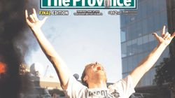 PHOTOS: Front Pages Covered The Vancouver Riots Cup