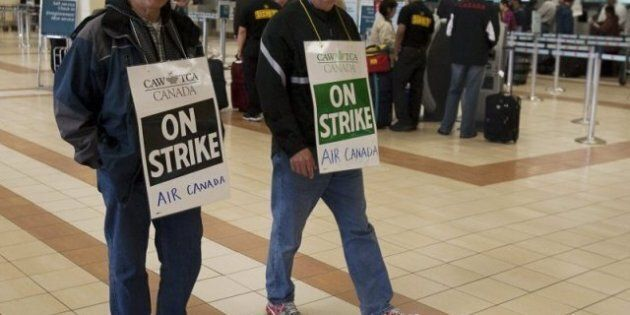 Air Canada Strike: Back-To-Work Legislation Looms, Talks