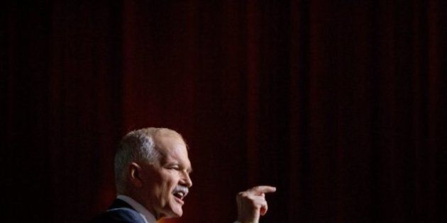Jack Layton Kicks Off NDP Convention By Predicting Party Will Form Next
