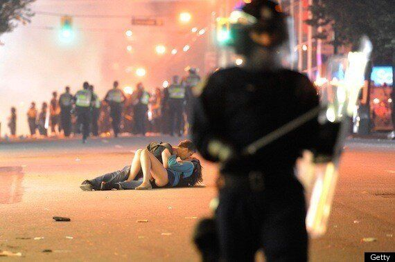 Kissing Couple: Scott Jones And Alex Thomas Say Vancouver Riot Embrace Was The Real