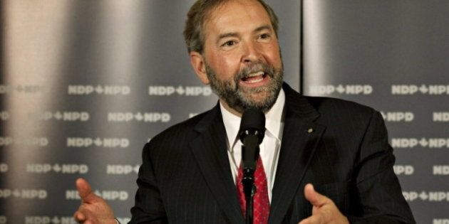 Thomas Mulcair: NDP Leadership Bid Could Be Stalled By Lack Of Quebec Party