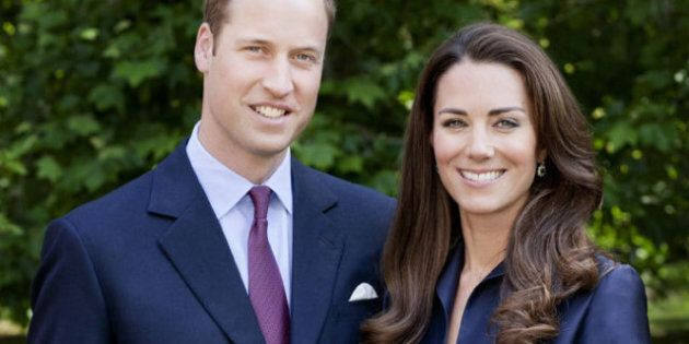 Royal Visit: New Official Photo Of Will And Kate
