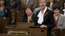 Layton Honoured As Parliament