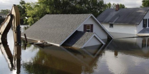 North Dakota Floodwaters To Reach Manitoba
