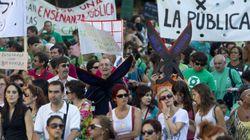 Anger Boils As Spain's Teachers Strike Over
