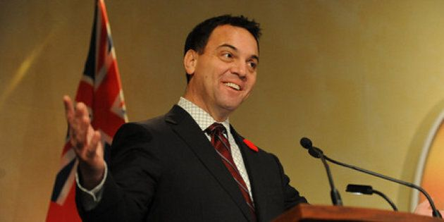 Ontario Election: Hudak Blames 'Union Bosses' And Red Tape For Blocking Job