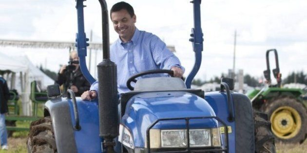 Ontario Election: Party Leaders Jump On Tractors At International Plowing Match To Court Farm