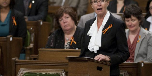 NDP Interim Leader Nycole Turmel To Occupy Layton's Former Seat In House Of